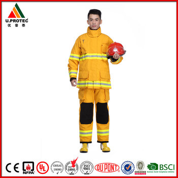 High Performance EN469 Nomex IIIA Structural Fire Suit