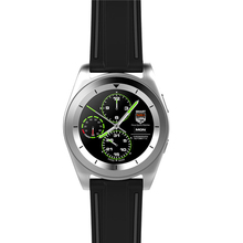 Circle smart watch Android and IOS double system BT 4.0 fasion ultra-thin smart watch