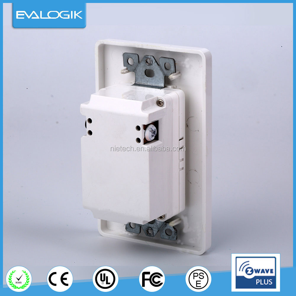 908.42MHz wireless wall socket of lighting control system (ZWP32)