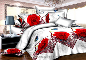 Woven Technics and 100% Cotton Material luxury bedding set home textile