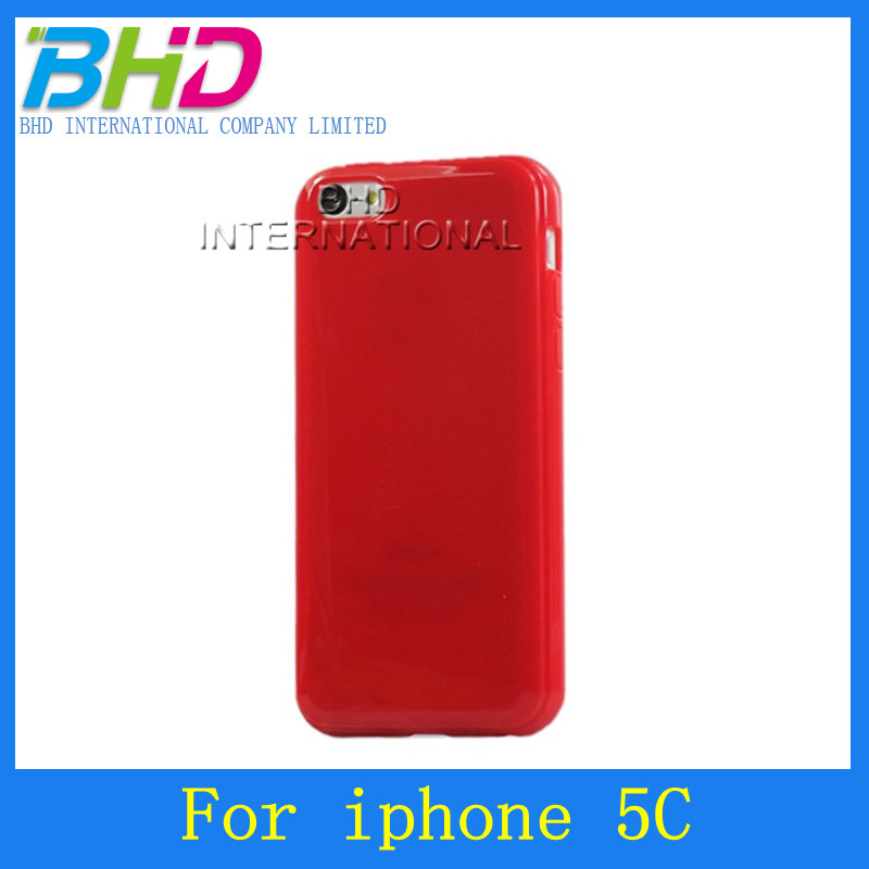 For iphone 5c TPU cell phone protective cover
