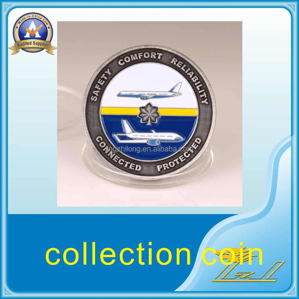 Precious wholesale brass promotional souvenir coin collection coins