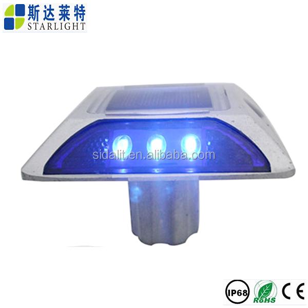 High quality outdoor waterproof flashing led road marker posts