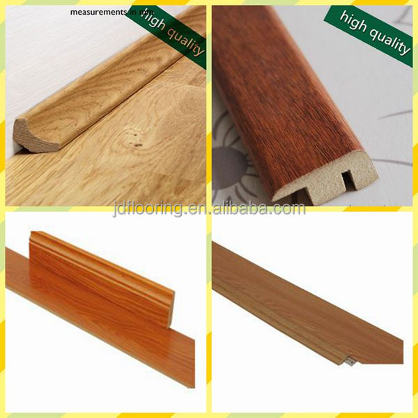 Wood Floor Accessories Skirting mdf core board, various colors available