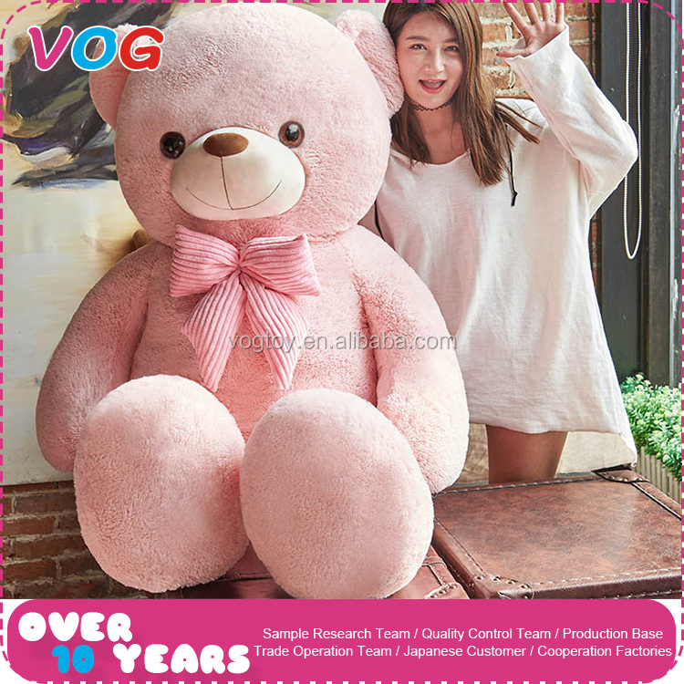 Most popular birthday gift custom huge giant teddy bear toy for girlfriend
