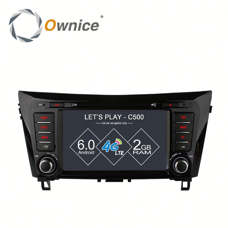 Octa core Android 6.0 Ownice C500 car multimedia for nissan x-trail support OBD DAB TPMS Built in 4G LTE