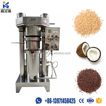Good command stainless steel cold press automatic mustard oil machine, small sesame seed oil coconut oil extraction machine
