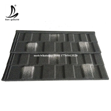 China Red Stone Coated Metal Roofing Tile /Shingle Tile