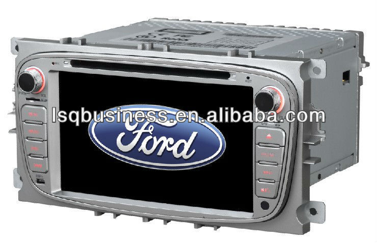 Ford focus 2009 auto stereo with DVD/iPod/dual zone/MP3/canbus/virtual 6 disc ST-8607