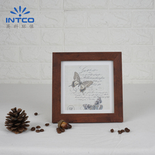 INTCO Nice Butterfly Designed Walnut Color PS Photo Frame