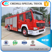 SINO HOWO 4*2 RHD LHD 8000L 10000L Water Foam Fire Fighting Truck Price Vacuum Fire Truck