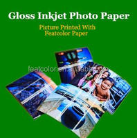 260g Waterproof Satin / Glossy / Silky RC Photo Paper A7