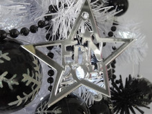Christmas Decoration Supplies star shape acrylic christmas decoration tree ornament wholesale