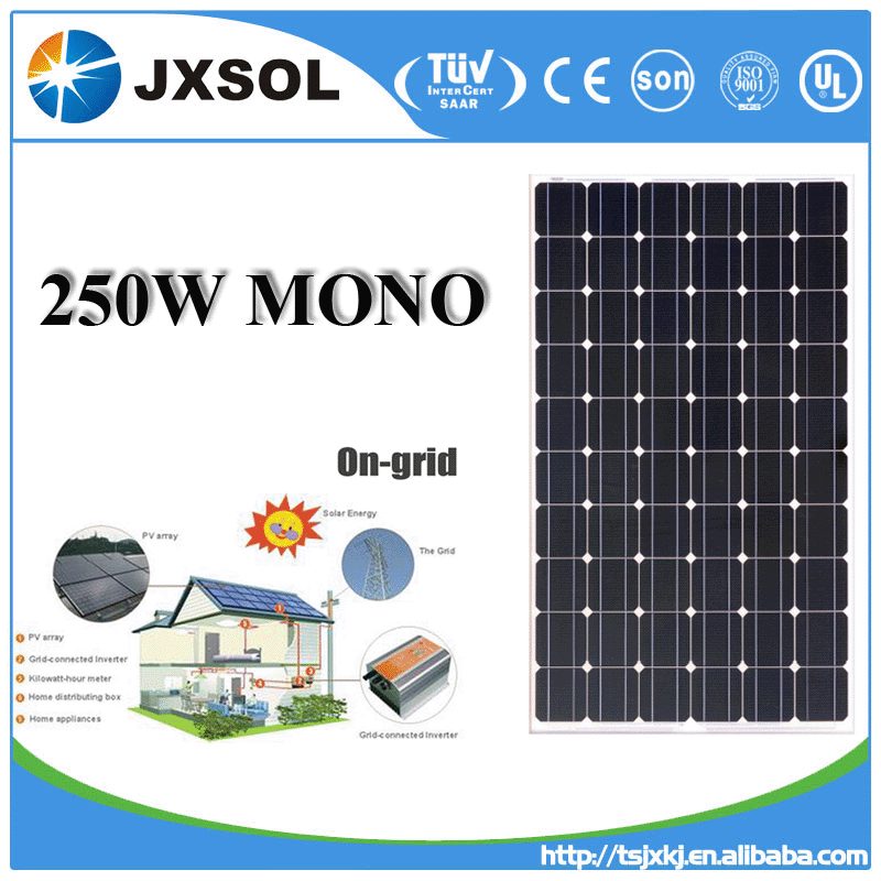 mono solar cell 280w high quality photovoltaic panel solar