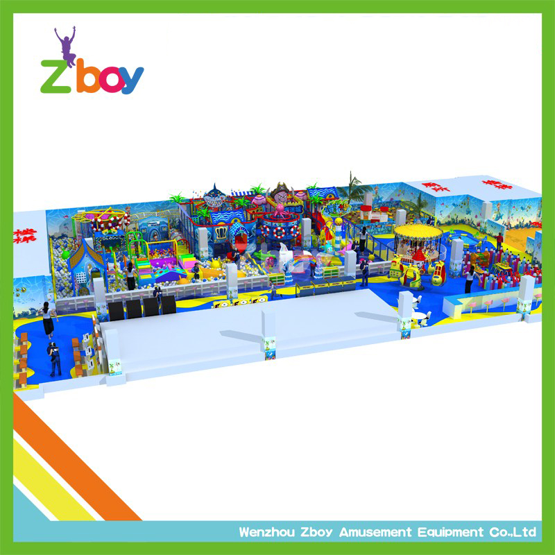 Customized Design Children Indoor Soft Play Areas for UK