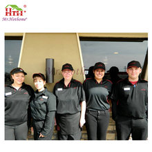 Professional factory supply good quality hotel housekeeping uniform