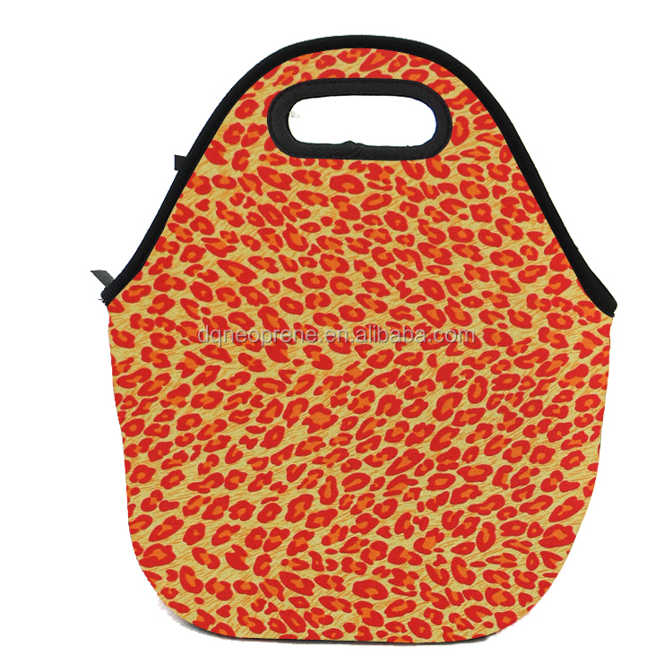 High Quality Customized neoprene lunch tote bag