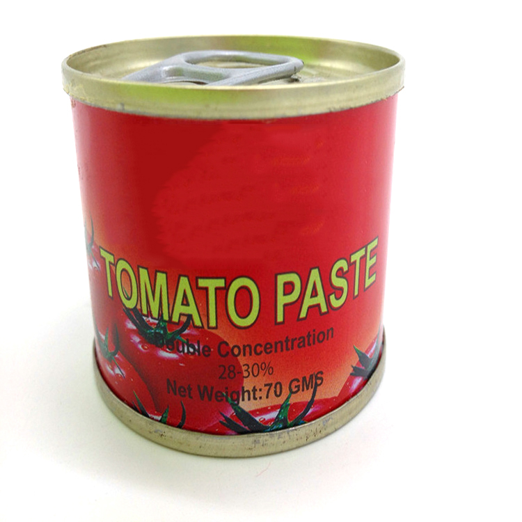 pizza sauce natural red color can easy open canned tomato paste