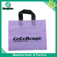 2014 custom printed disposable plastic bag for shopping