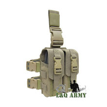 Military Tactical Ammo pouch Drop Leg M4 Mag Pouch