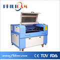 CE ISO certificated FLDJ6090 for wood,pvc,plastic co2 laser cutting engraving machine