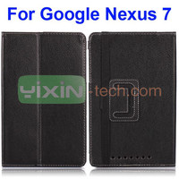 New Design Flip Stand Smart Case For Google Nexus 7 Leather Case
