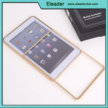 Ultra slim metal aluminum bumper case for ipad mini
