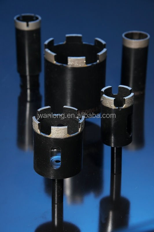 High performance applicable diamond core drill bit for masonry stone concrete length 450mm