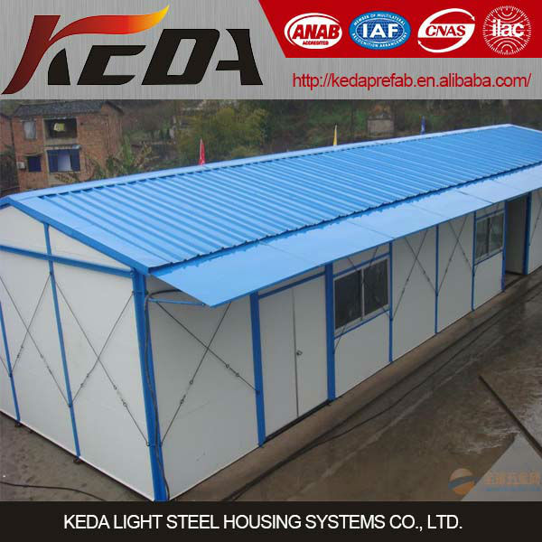 construction site use cheap prefabricated houses