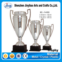 top grade quality low price trophy replica with silver plating