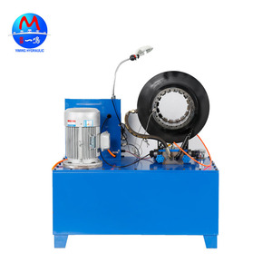 Three in one machine crimping/skiving/cutting hose multifunctional machine to make hydraulic hose