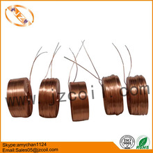 Thin copper inductor air core coil 1.77mH