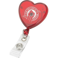 Office Accessories Colored Plastic Heart Shape