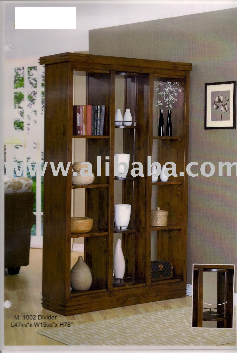 1002 Display Cabinet, Divider, Home Furniture, Wooden Furniture