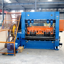 Aluminum honeycomb core expanded metal mesh machine