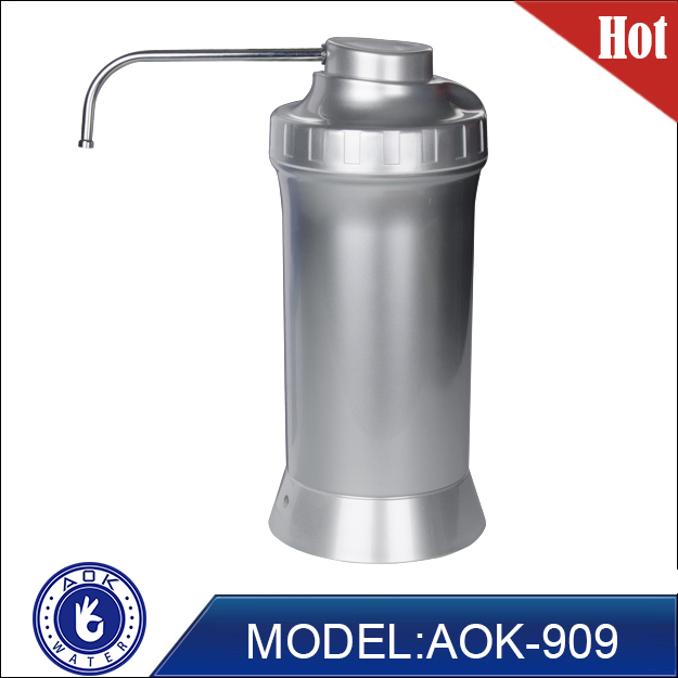 AOK Alkaline Water Filter provide 8-9.5 alkaline to improve systemic acid/alkaline balance