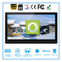 24 inch Android all in one pc,kiosk,smart TV 3-in-1 (Touch screen,RK3188 1.9GHz, Quad core 1GB DDR3 8GB, camera,VESA,Bluetooth)