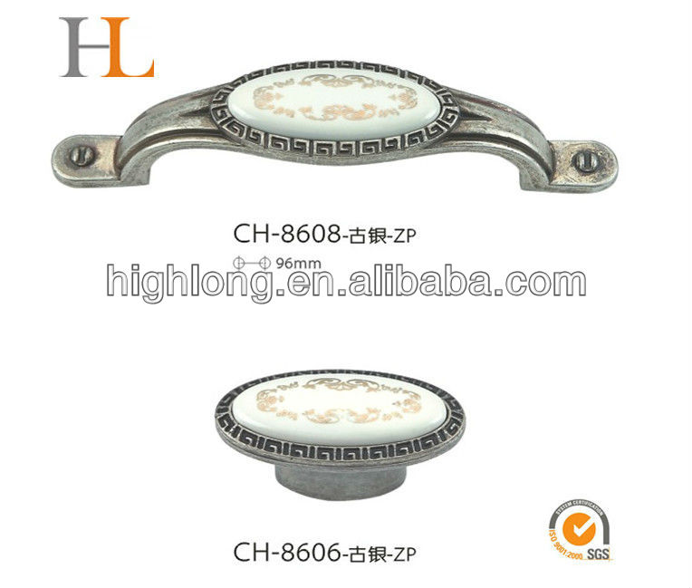 Supplier of plastic Furniture Handle Cabinet Handle/bed knob