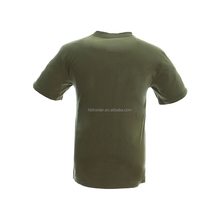 Wholesale cheap price cotton army green t shirt us army t shirts for sale