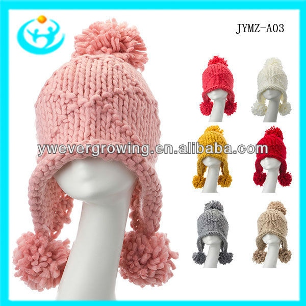 fashion wool felt men and warm knitted cap winter hat 2013