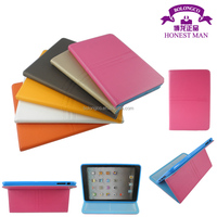 Leather+TPU tablet case for ipad 2/3/4 stand funtion PU+TPU cover for ipad 4 in stock wholesale