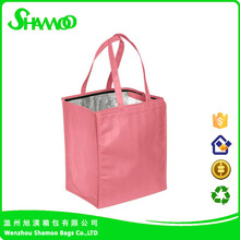Cheap promotional wine ice bag for outdoor