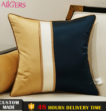Avigers high end fashion cushion covers fancy decorative sofa set designs pillow case for home decor pillow shams