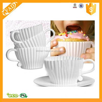 Factory Direct Sale Best Selling Cup Shape Cake Tools Silicone Cupcake