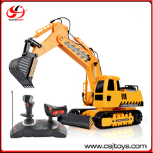 1:18 Operate Excavator Toy China Big Game RC Truck Battery Cars Electric Vehicle Toys For Kids