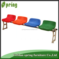 2016 new design heated stadium chairs high quality plastic stadium grandstand chairs