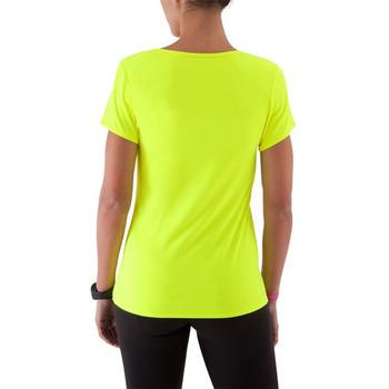 Neon yellow sport style custom women t shirt buy custom for Neon custom t shirts