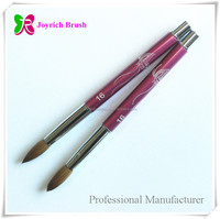 Kolinsky acrylic nail brush professional cosmetics wholesale