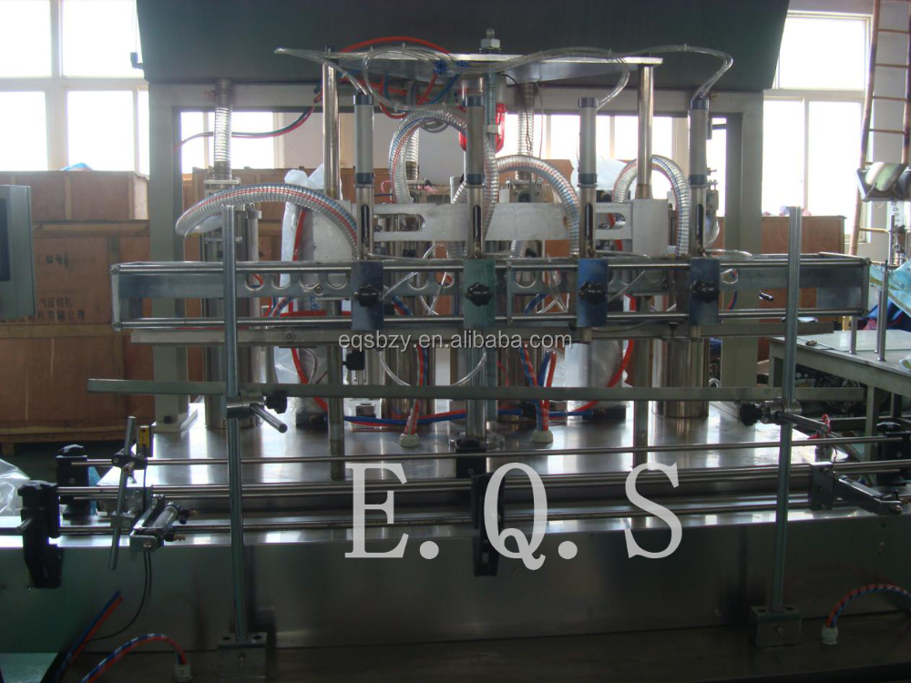 Automatic Edible Oil Filling Machine, Weighting Type Oil Filling Machinery