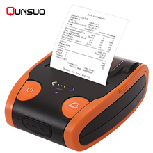 portable handheld mini android pos 58 barcode bluetooth receipt label thermal printer